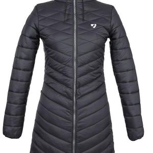 Shires Aubrion Foresta Softshell Jacket in Black Black Ladies Small